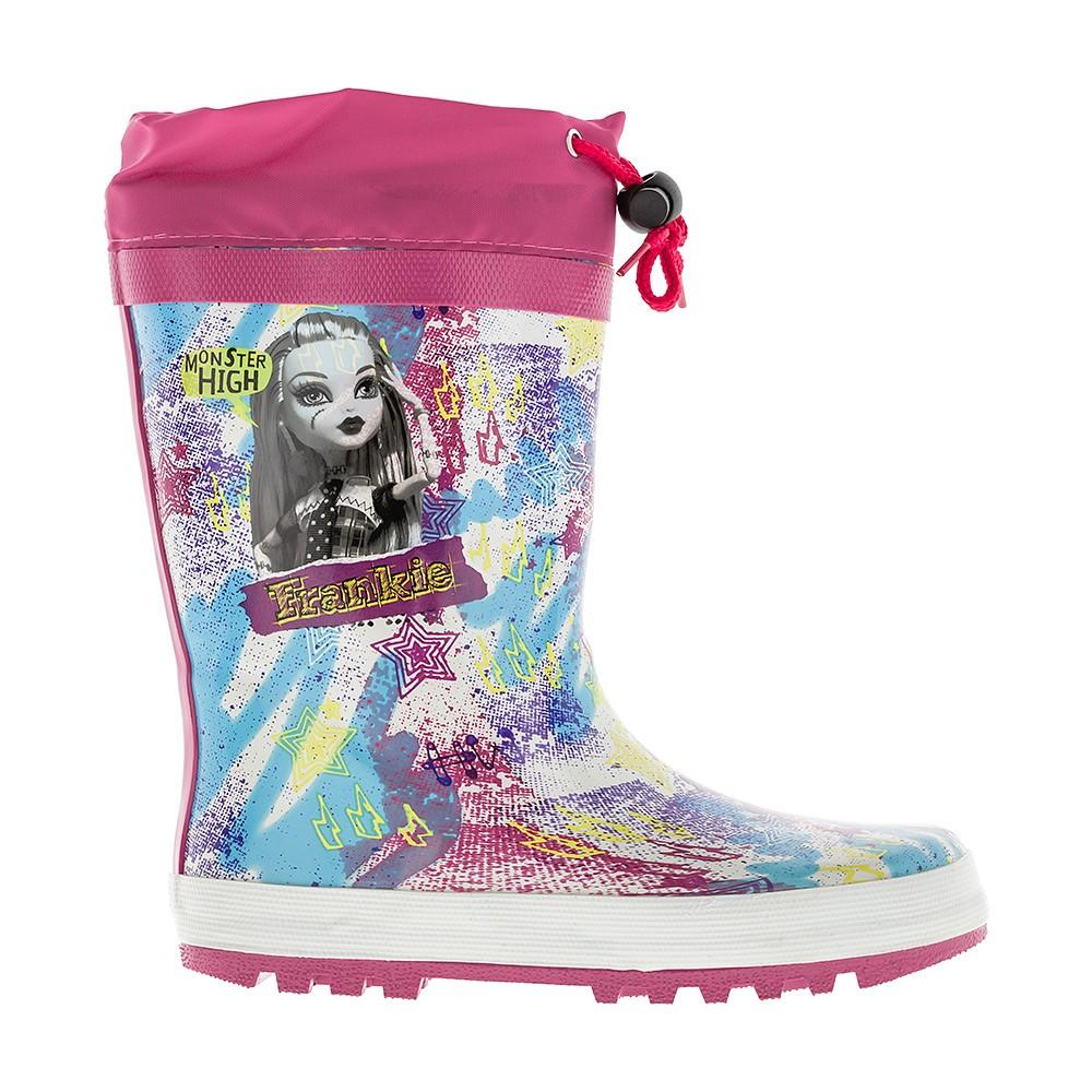 ed0521204 Резиновые утепленные сапоги весна - лето для девочек Monster High ...