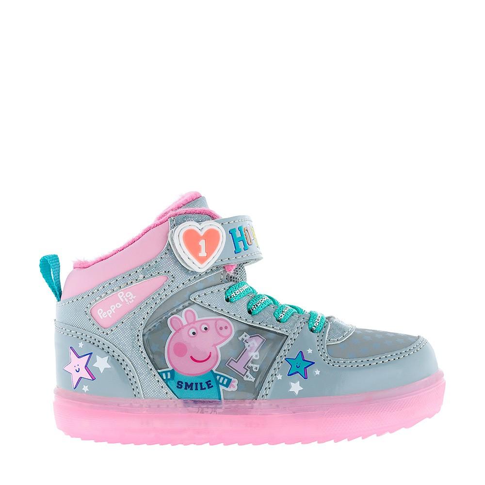 Ботинки со светящейся подошвой Peppa Pig  1